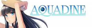 Aquadine Visual Novel Logo