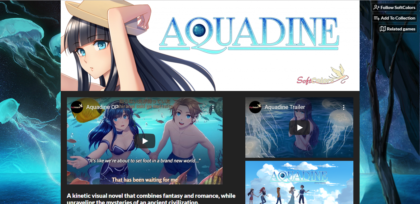 Aquadine on itch.io!